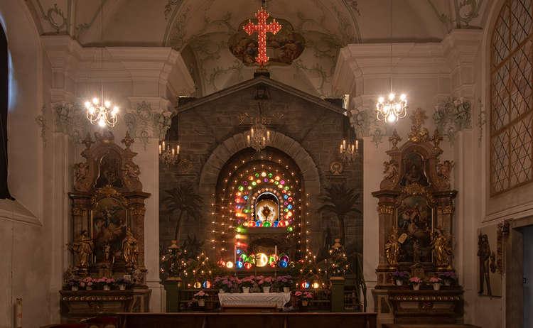 Altar Klosterkirche Hoeglwoerth Anger Heiliges Grab