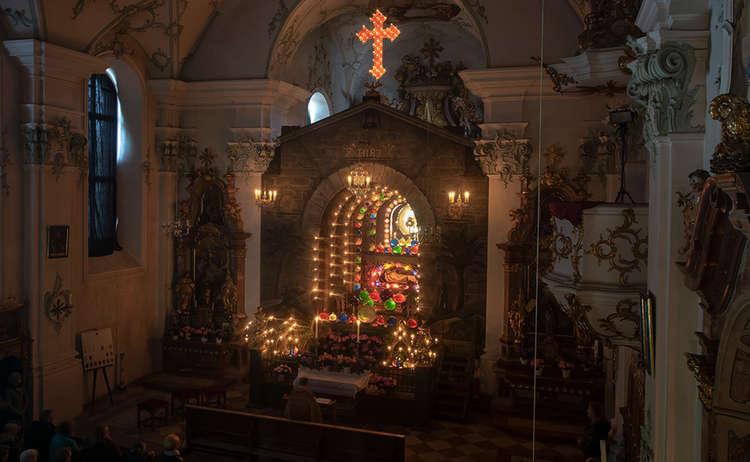 Heiliges Grab Klosterkirche Hoeglwoerth