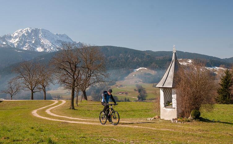 Mit dem mountainbike auf den Högl