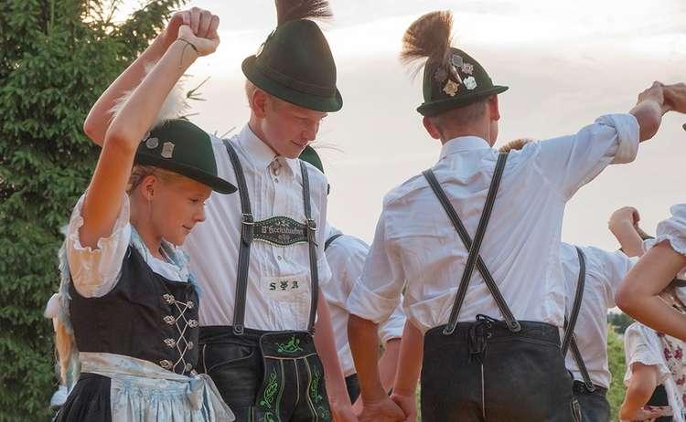 Jugendgruppe Trachtenverein Anger
