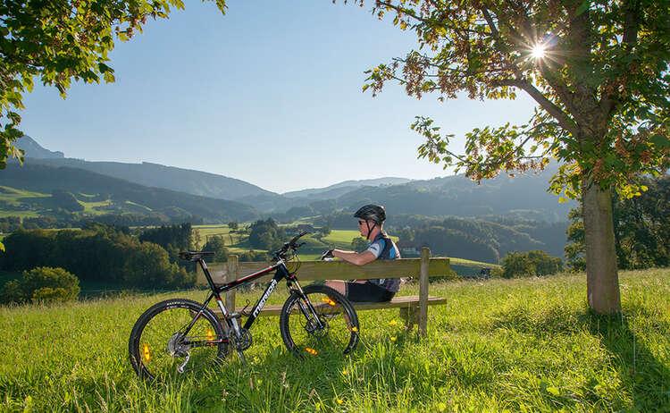 Mit dem Mountainbike durch den Rupertiwinkel